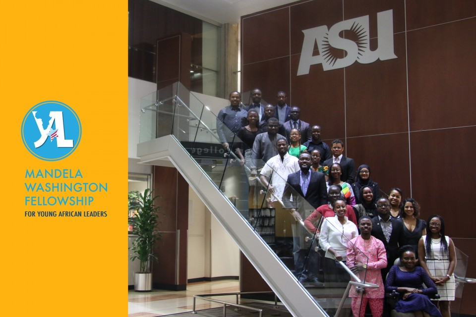 Mandela Fellowship students